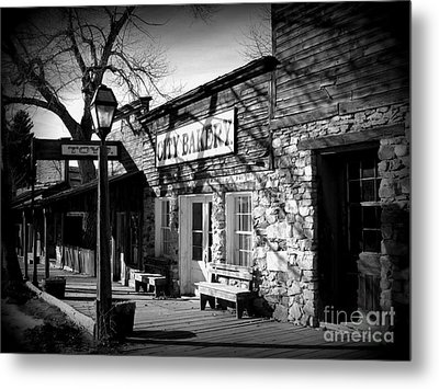 Metal Print featuring the photograph City Bakery by Janice Westerberg
