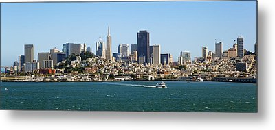 City By The Bay Metal Print by Kelley King