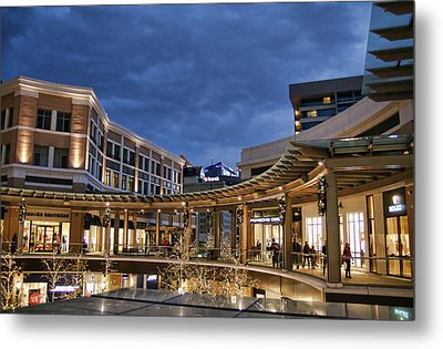 Metal Print featuring the photograph City Creek by Ely Arsha