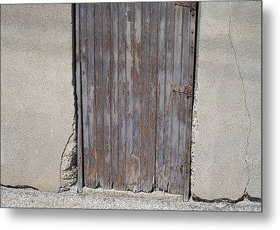 City Door Metal Print