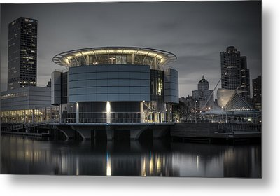 Metal Print featuring the photograph City Glare by Deborah Klubertanz