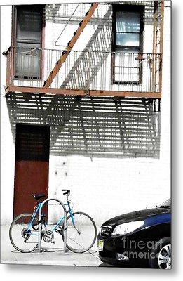 City Home Metal Print by Sarah Loft