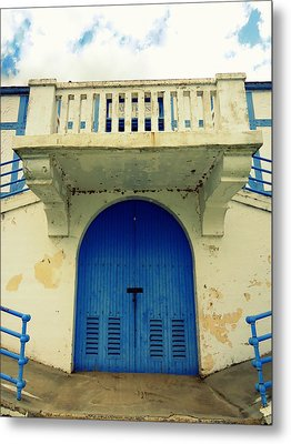 City Island Bath House Metal Print