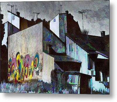 City Landscape Metal Print