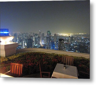 City Life - Bangkok Thailand - 01137 Metal Print by DC Photographer