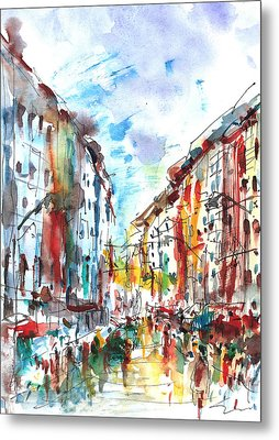 City Life... Metal Print by Faruk Koksal