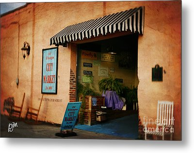 Metal Print featuring the photograph City Market by Phil Mancuso
