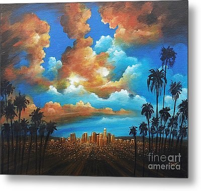 City Of Angels Metal Print by S G