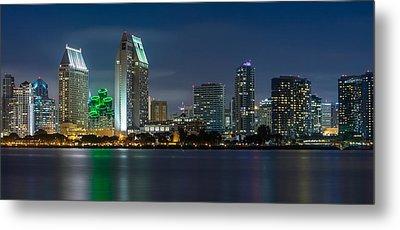 City Of San Diego Skyline 2 Metal Print