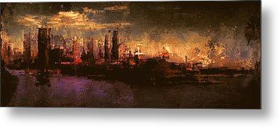 City On The Sea Metal Print
