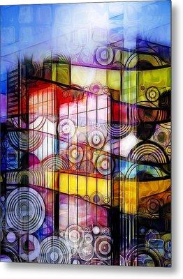 City Patterns 1 Metal Print