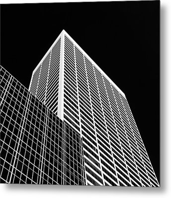 City Relief Metal Print by Dave Bowman