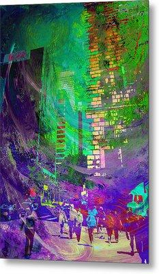 City Streets Metal Print by John Fish