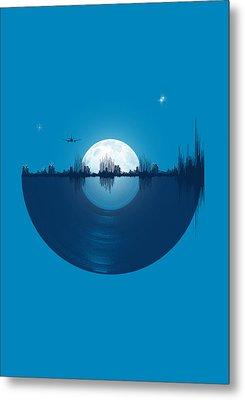 City Tunes Metal Print by Neelanjana  Bandyopadhyay