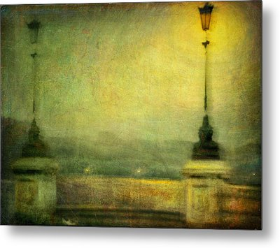 Metal Print featuring the photograph Cityscape #29. Parisienne Walkways by Alfredo Gonzalez