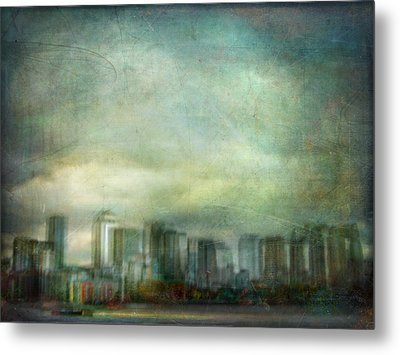Metal Print featuring the photograph Cityscape #32. Chrystalhenge by Alfredo Gonzalez