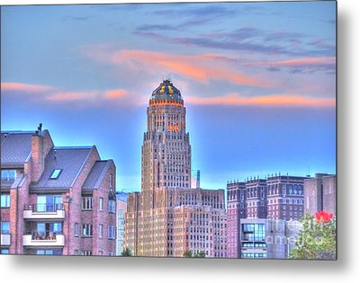 Cityscape Metal Print by Kathleen Struckle