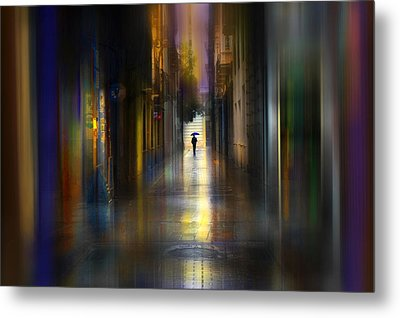 Cityscape Metal Print by Sol Marrades