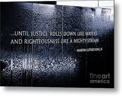 Civil Rights Memorial Metal Print by Danny Hooks