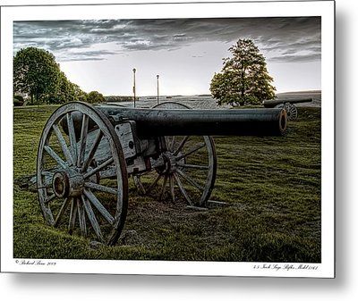 Metal Print featuring the photograph Civil War Rifles by Richard Bean