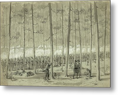 Civil War Union Army, 1864 Metal Print