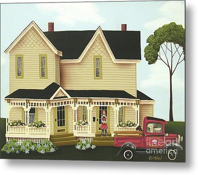 Clara's Confections Metal Print by Catherine Holman