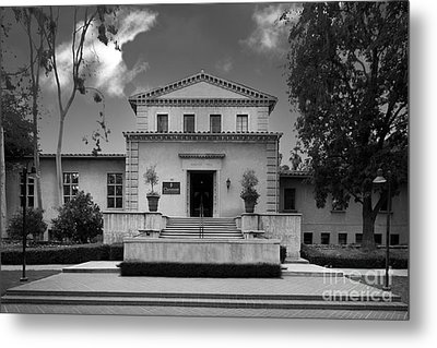 Claremont Graduate University Harper Hall Metal Print by University Icons