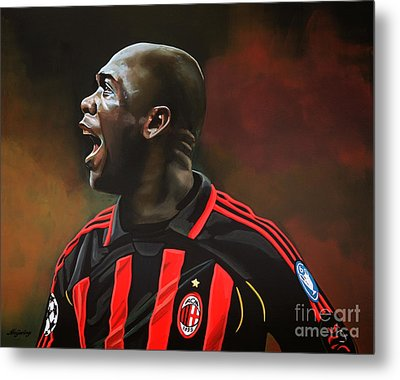 Clarence Seedorf Metal Print by Paul Meijering