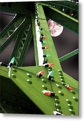 Clarence's Bridge Metal Print