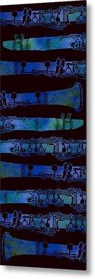 Clarinet Keys Metal Print by Jenny Armitage
