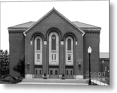 Clarke University Donaghoe Hall Theater Metal Print by University Icons