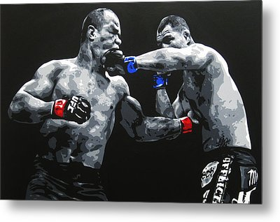 Clash Of The Titans Metal Print