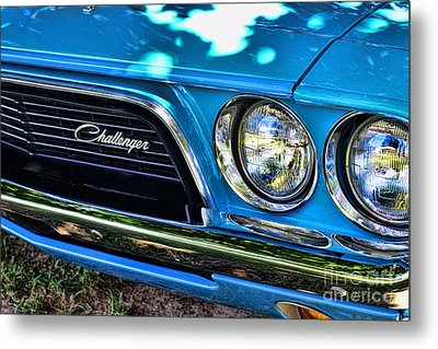Classic 1974 Dodge Challenger Metal Print by Paul Ward