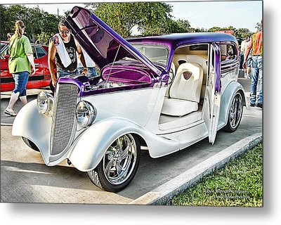 Metal Print featuring the photograph Classic Auto   by Dyle   Warren