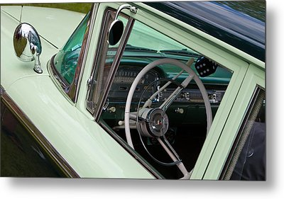 Metal Print featuring the photograph Classic Automobile Interior by Mick Flynn