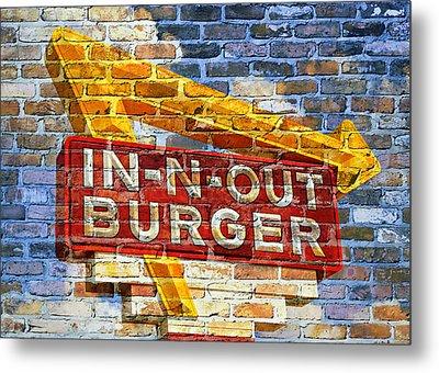 Classic Cali Burger 2.1 Metal Print by Stephen Stookey