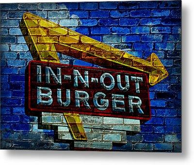 Classic Cali Burger 2.4 Metal Print by Stephen Stookey