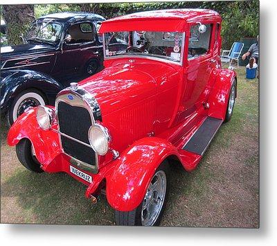 Classic Car . Metal Print by Max Lines