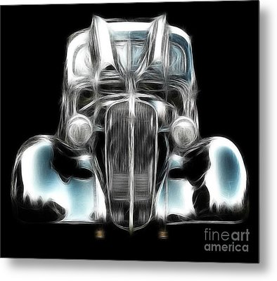 Classic Car Abstract Metal Print by JRP Photography