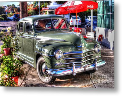 Classic Car Metal Print by Kevin Ashley