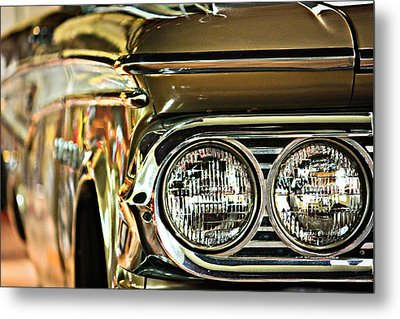 Metal Print featuring the photograph Classic Car by Tammy Schneider