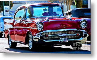 Classic Chevrolet Metal Print by Tap On Photo