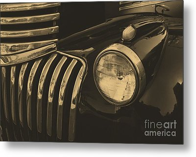 Metal Print featuring the photograph Classic Chevy One by John S