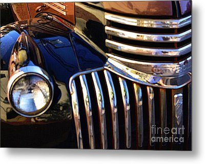 Metal Print featuring the photograph Classic Chevy Two by John S