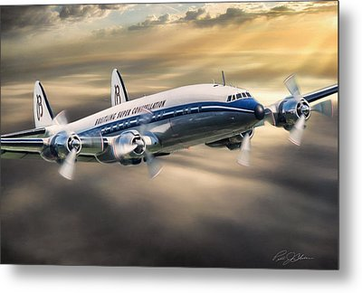 Classic Constellation Metal Print by Peter Chilelli