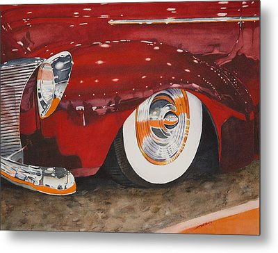 Classic Curves Metal Print by Christopher Reid