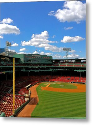 Classic Fenway I  Fenway Park Metal Print by Iconic Images Art Gallery David Pucciarelli