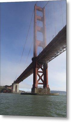 Classic Golden Gate Metal Print by Scott Campbell