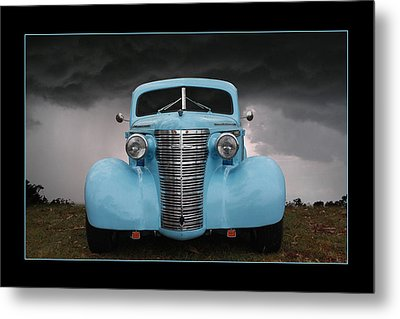 Metal Print featuring the photograph Classic In Blue by Keith Hawley