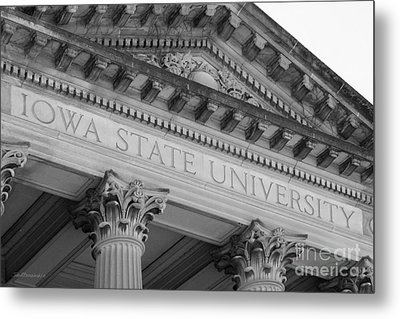 Classic Iowa State University Metal Print by University Icons